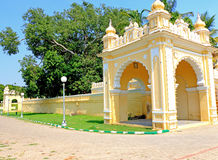 Mysore pałac Karnataka ind Obraz Royalty Free