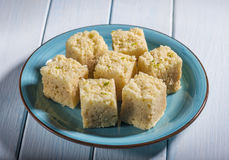 Mysore pak Royalty Free Stock Images