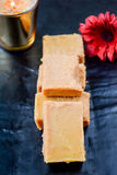 Mysore Pak Stock Photo