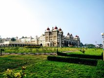 Mysore palace. The beautiful mysore palace stock photos
