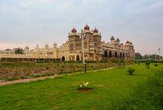 Mysore Palace full view royalty free stock photos