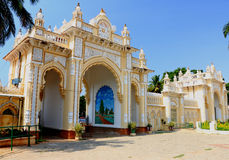 Mysore Palace gate Stock Photo