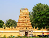 Mysore Palace gate Stock Photo