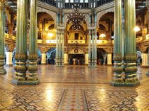 Hall Inside Mysore Palace stock photo