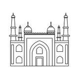 Mysore palace india Royalty Free Stock Images