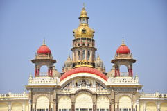 Mysore Palace in India Royalty Free Stock Images