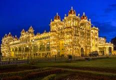 Mysore Palace, India royalty free stock photos