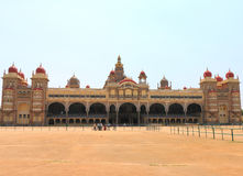 Mysore Palace. Mysore Karnataka Royal Palace is one of the grandest in India. Lovingly restored in 1912 after a fire burned it down. It's sheer size and Stock Photos