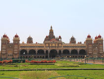 Mysore Palace. Mysore Karnataka Royal Palace is one of the grandest in India. Lovingly restored in 1912 after a fire burned it down. It's sheer size and Royalty Free Stock Photos