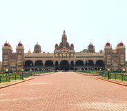 Mysore Palace. Mysore Karnataka Royal Palace is one of the grandest in India. Lovingly restored in 1912 after a fire burned it down. It's sheer size and Royalty Free Stock Image