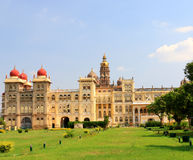 Mysore Palace. Mysore Karnataka Royal Palace is one of the grandest in India. Lovingly restored in 1912 after a fire burned it down. It's sheer size and Stock Images