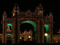 Mysore palace Royalty Free Stock Photography