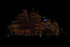 Mysore Palace at Night Stock Photo