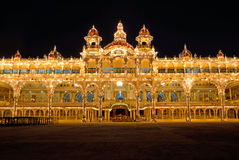 Mysore-Palast, Indien Lizenzfreies Stockbild