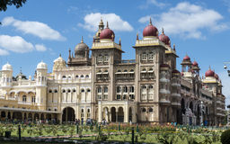 Mysore-Palast, Indien Stockfotografie