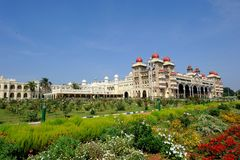Mysore-Palast, Indien Lizenzfreie Stockfotografie