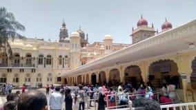 Mysore-Palast Karnataka lizenzfreie stockfotografie