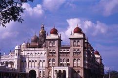 mysore slott Arkivbild