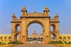 Mysore slott Fotografering för Bildbyråer