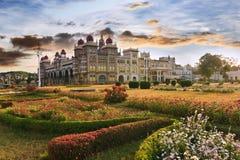Mysore slott arkivfoton