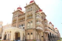 Mysore slott, Indien Arkivbilder
