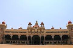 Mysore slott, Indien Arkivfoton