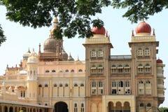 Mysore slott, Indien Arkivbild