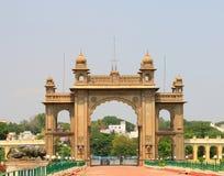 Mysore slott, Indien Fotografering för Bildbyråer