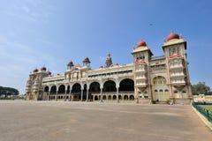 Mysore slott, Indien Royaltyfri Fotografi