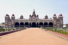 Mysore slott, Indien Arkivfoto
