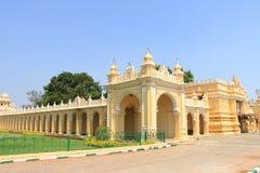 Mysore slottport Royaltyfria Bilder