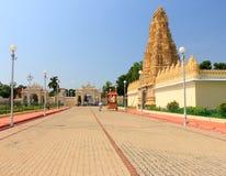 Mysore slottport Arkivbilder