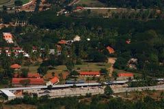 Mysore-Stadtrennstrecke lizenzfreie stockfotos