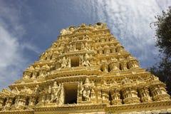 mysore utsmyckat tempel royaltyfri fotografi