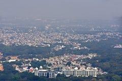 Mysore van hierboven Stock Afbeeldingen