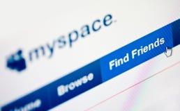 Myspace Stock Image