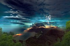 Mystère maya illustration libre de droits