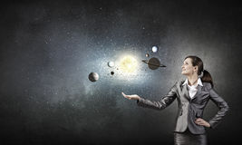 Mystères de l'espace images stock