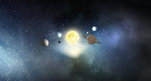 Mystères de l'espace Photo stock