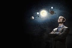 Mystères de l'espace image stock
