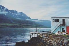 Mysteriöser Fjord Lizenzfreies Stockbild