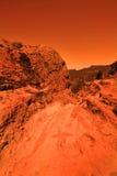 Mysteriöser terrestrischer Planet Lizenzfreies Stockfoto