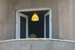 Mysteriöses Fenster Stockbild