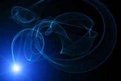 Mysteriöses Licht Stockbild