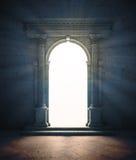Mysteriöses Portal Stockbild