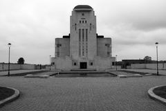 Mysteries Sfinx Like Building: Radio Kootwijk Royalty Free Stock Photos