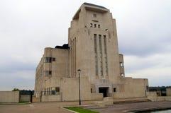 Mysteries Sfinx Like Building: Radio Kootwijk Stock Photo