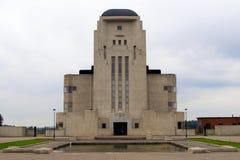 Mysteries Sfinx Like Building: Radio Kootwijk Royalty Free Stock Photo