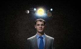 Mysteries of space Royalty Free Stock Photo
