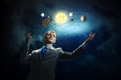 Mysteries of space Stock Photography